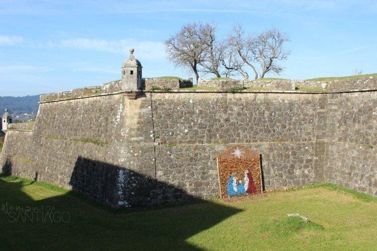 foto de muralla de valenca