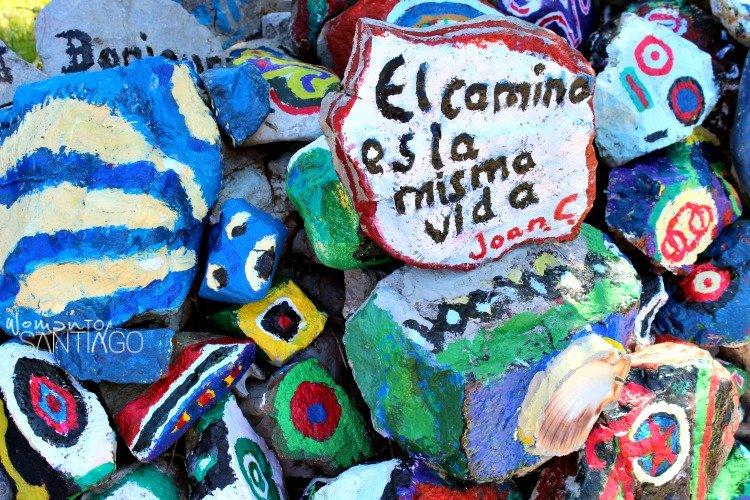foto de piedras de colores