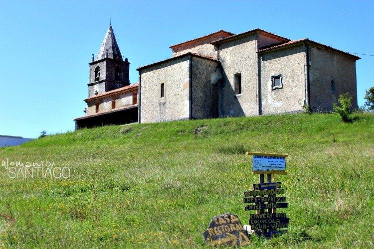 foto de iglesia y albergue