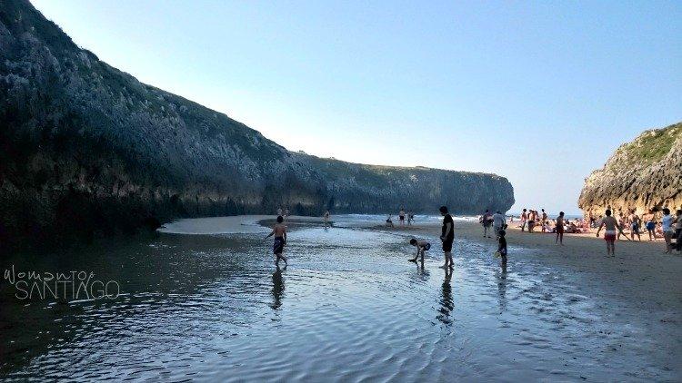 foto de playa de guadamia