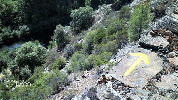 foto de flecha amarilla