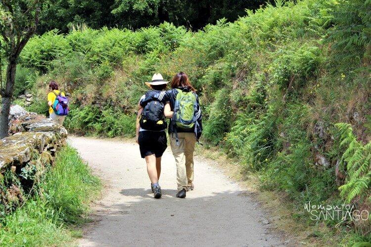 foto de peregrinas en el camino