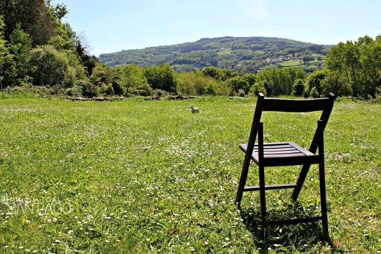 foto de prado en Galicia