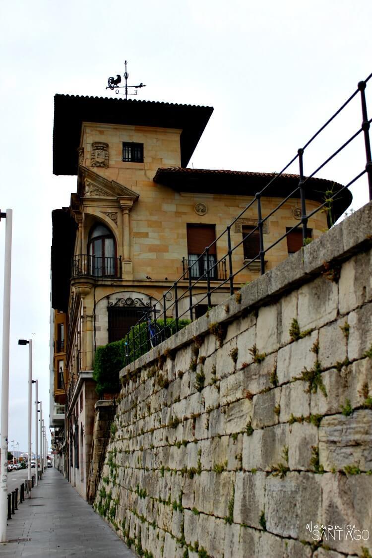 Casa Paquet de Gijón fotografía de la fachada