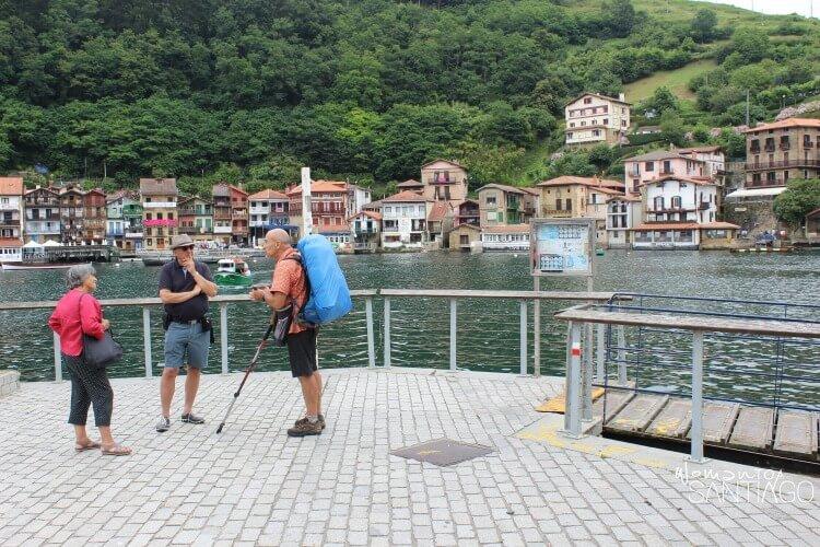 peregrinos hablando