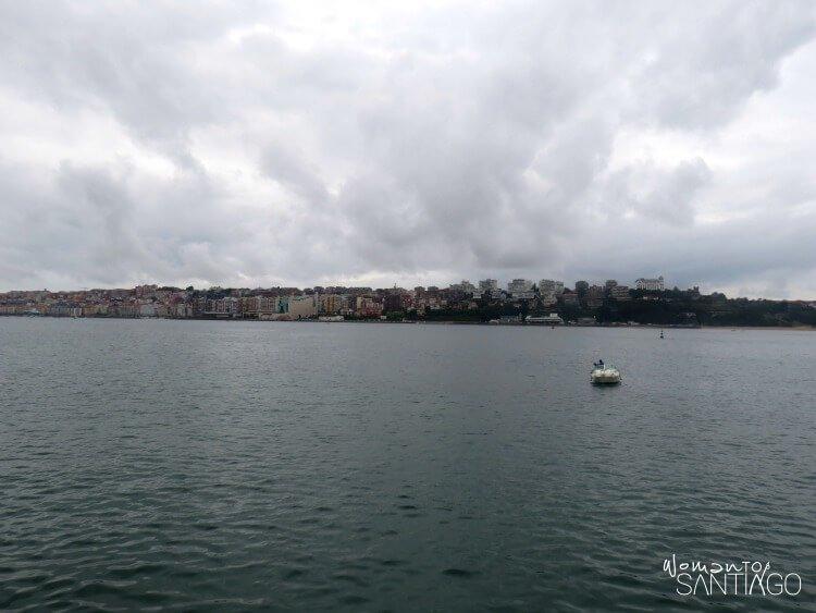 Vistas de la bahía de Santander