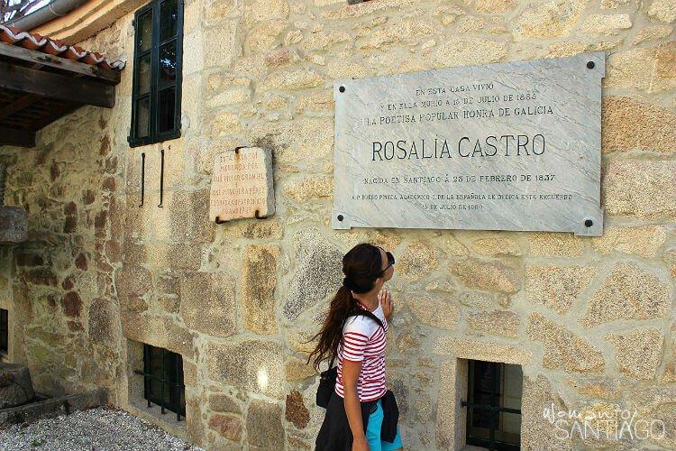 Casa museo de Rosalía de Castro en Padrón