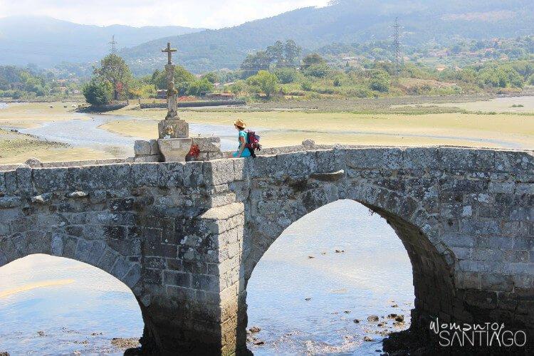 cruzando el Puente de A Ramallosa