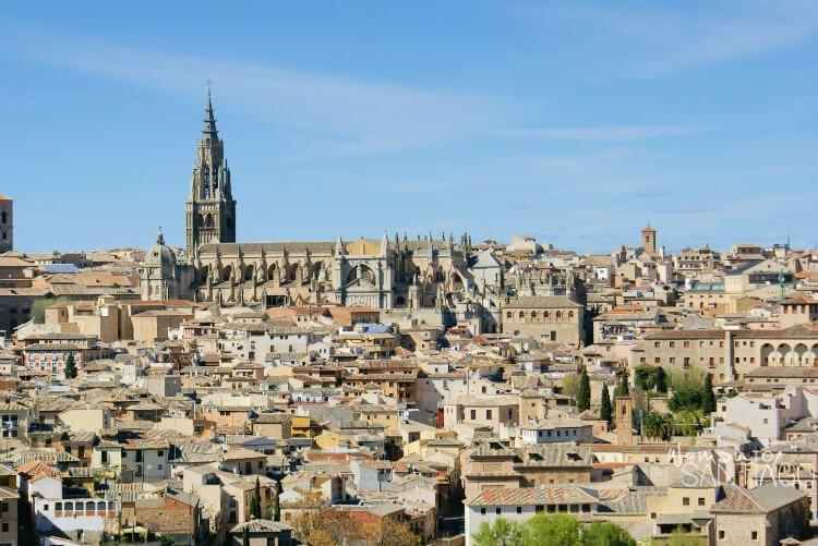 Vistas de Toledo desde el Camino de Levante