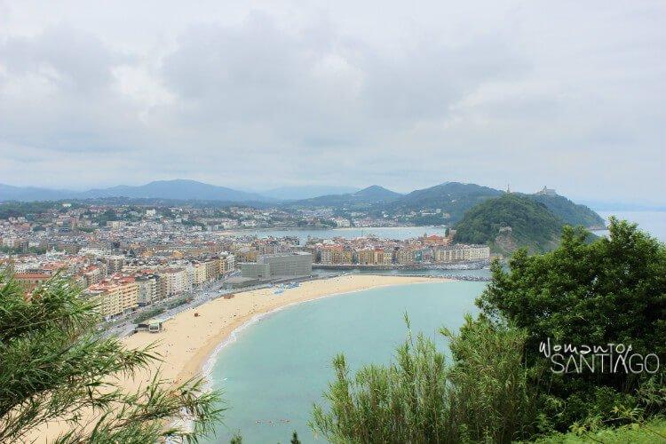 playa vista desde el cielo