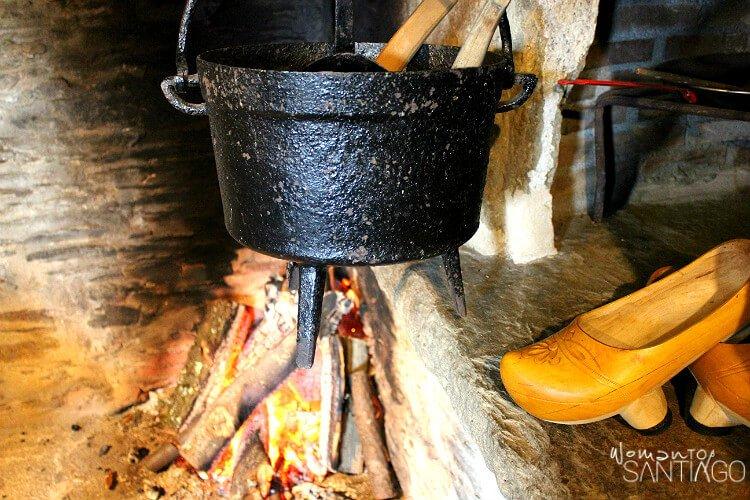 olla para cocinar a fuego lento