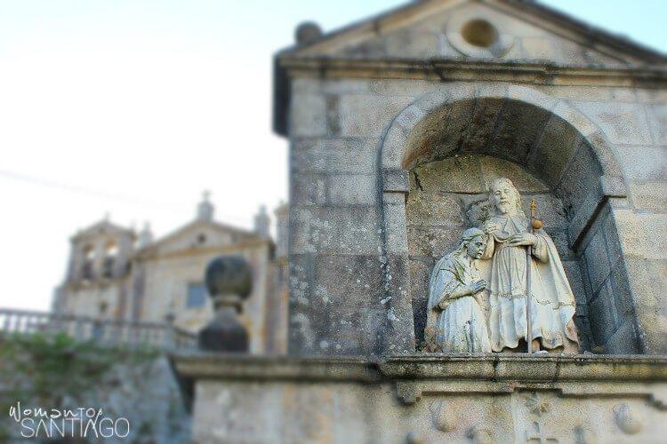 iglesia con la imagen del apostol