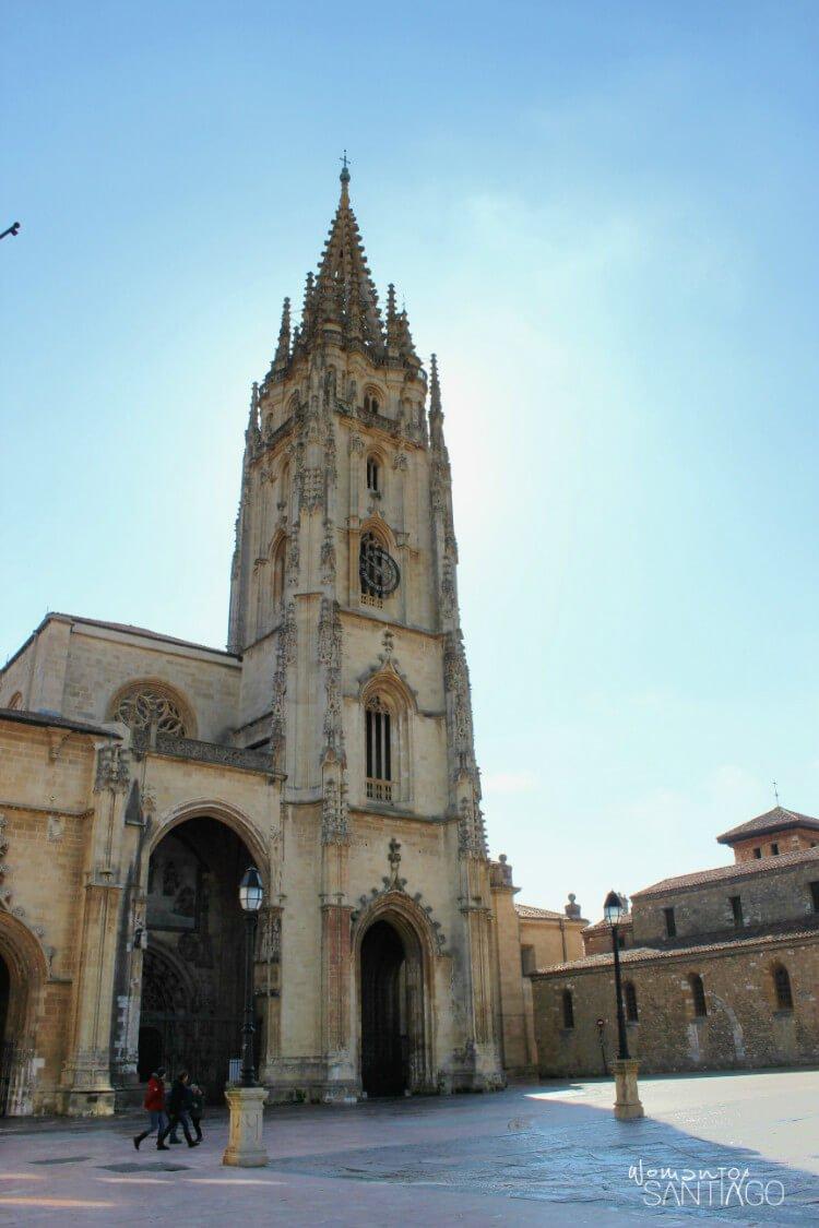 Catedral de El Salvador en Oviedo