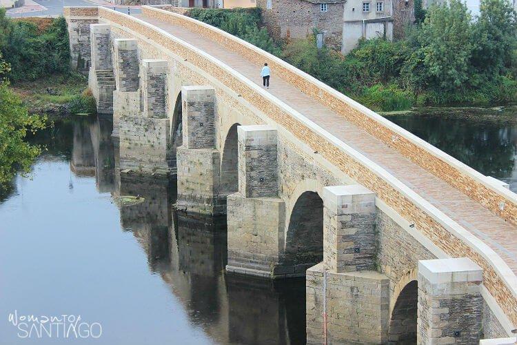 Puente romano de Lugo en el Camino Primitivo