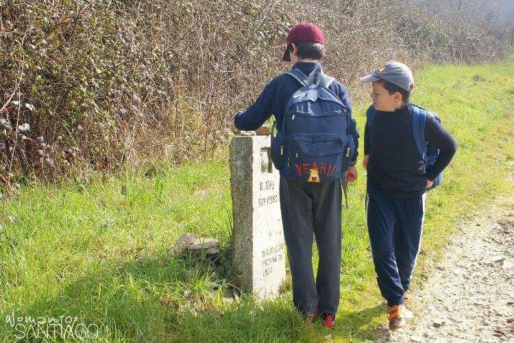 peregrinos en el camino
