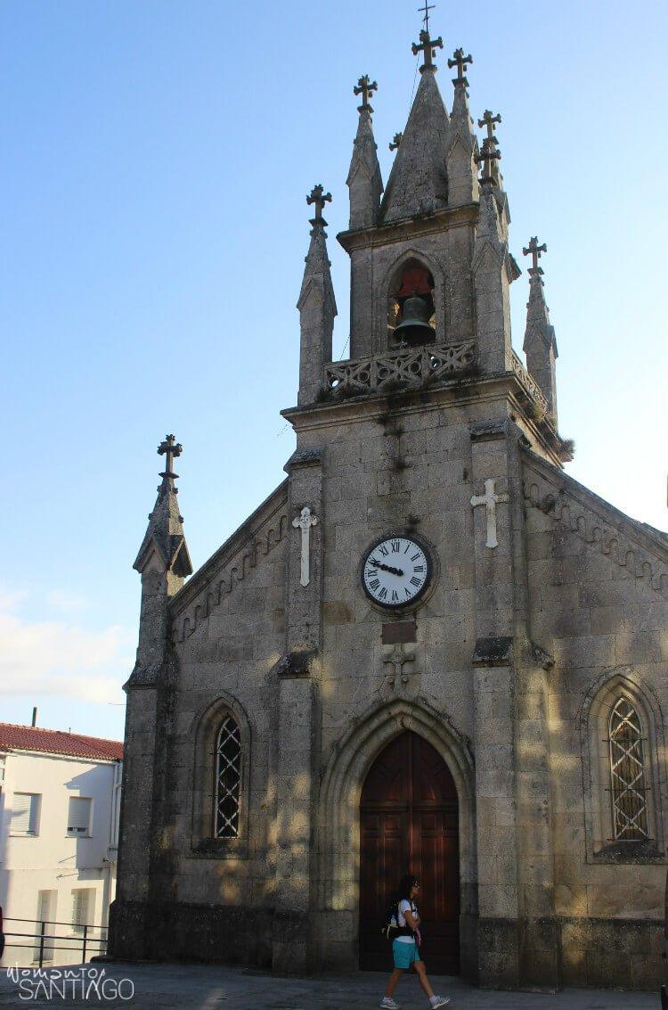 Iglesia de San Marcos en Corcubión