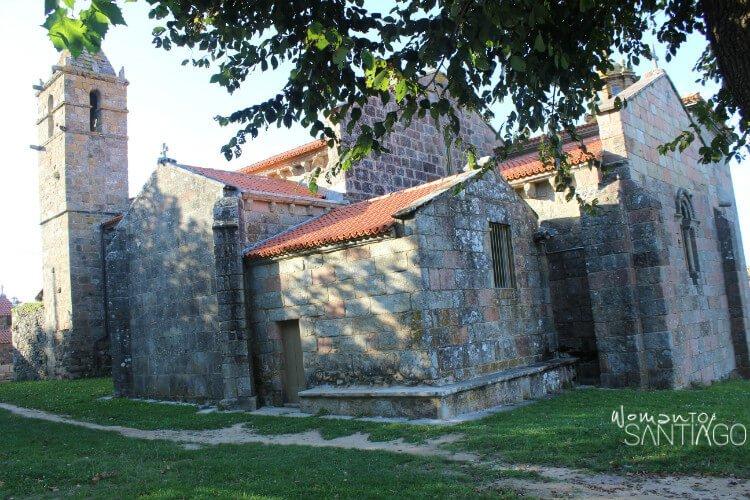 Santa María das Areas en Finisterre