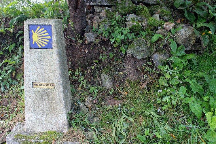 señal del camino de santiago