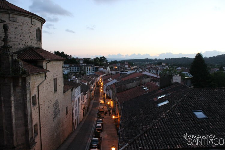 Salida de Santiago por el Camino a Finisterre