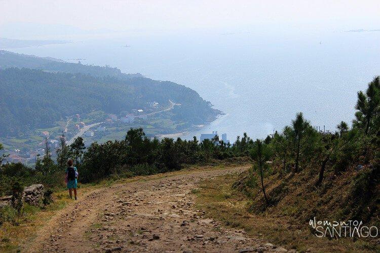 Vistas de la Ría de Corcubión