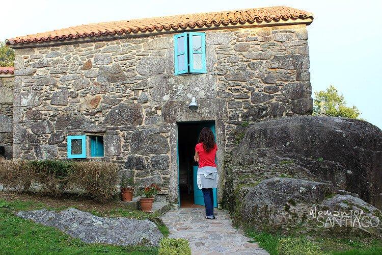 Albergue de Olveiroa, Camino a Finisterre