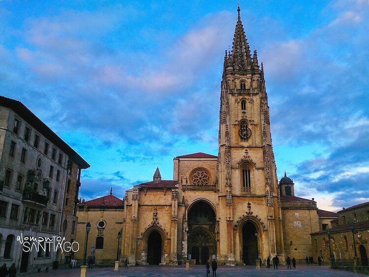 Catedral de San Salvador en Oviedo