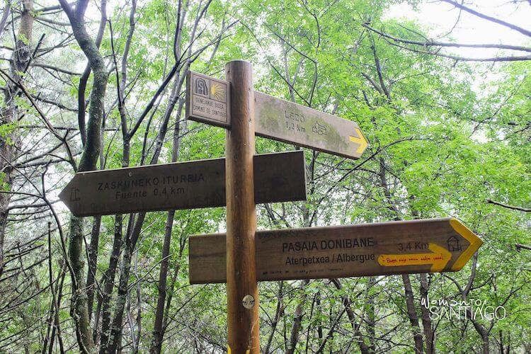Flechas Camino de Santiago