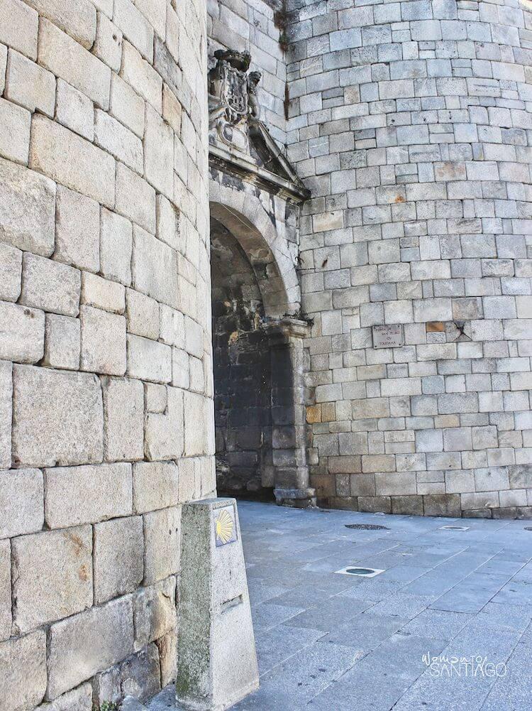 Puerta de San Pedro en Lugo