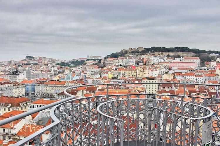 Lisboa desde la Torre de Santa Justa