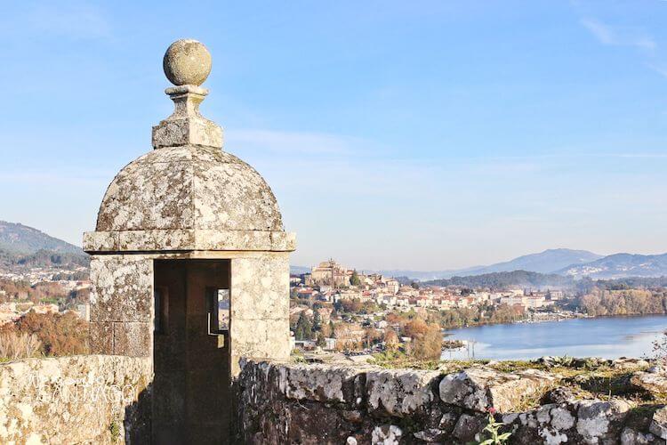 Vistas de Tui desde la fortaleza de Valença do Minho
