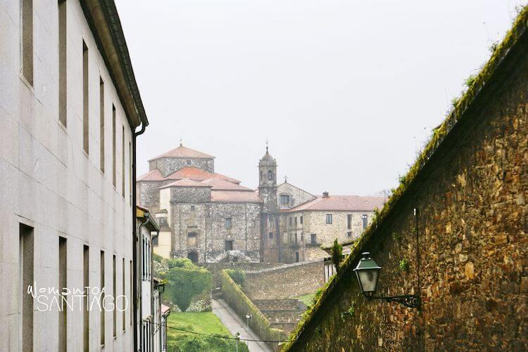 Vistas del Albergue Seminario Menor de Santiago de Compostela