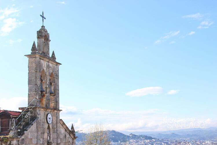Vistas de Orense desde el Camino de Santiago Sanabrés