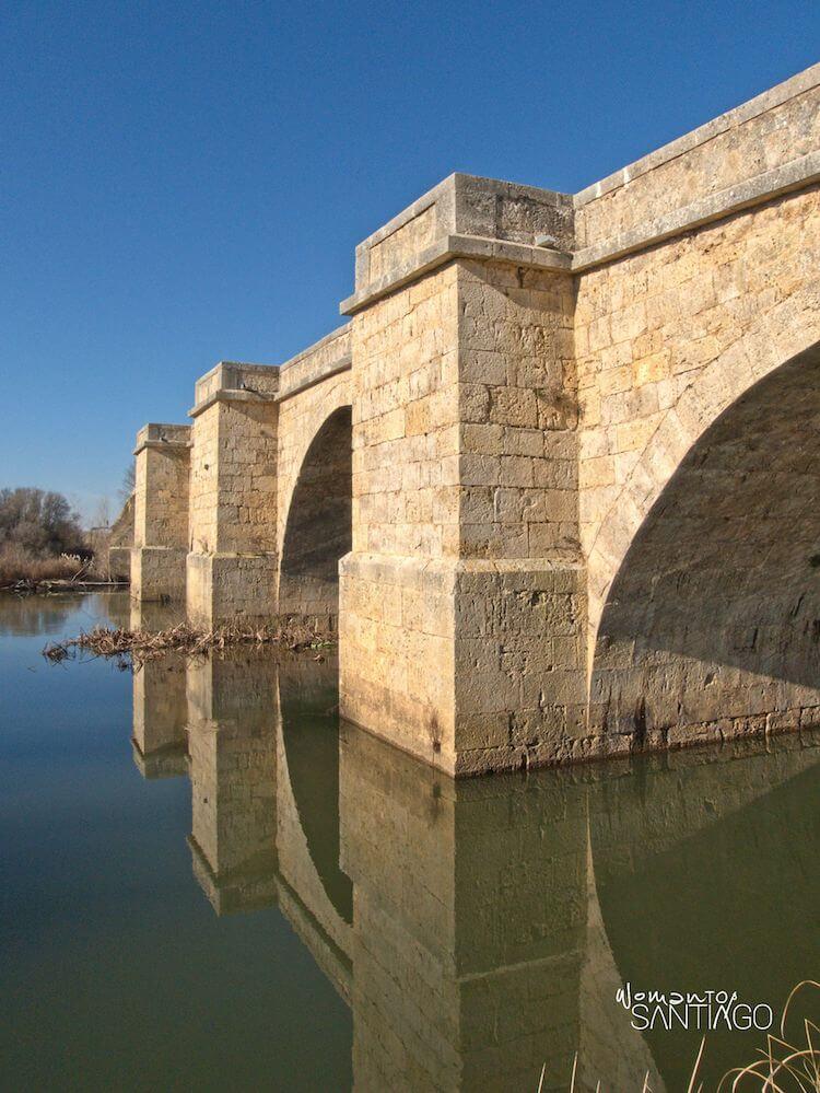 Puente Fitero sobre el río Pisuerga