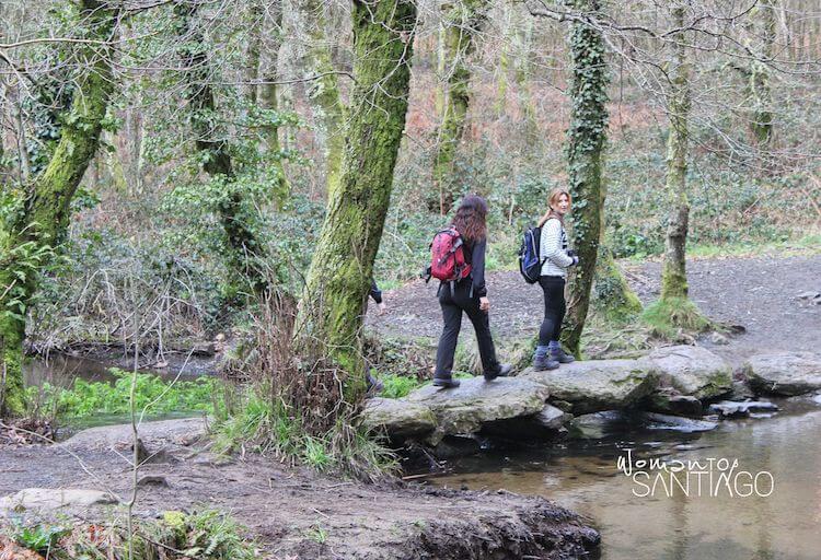 peregrinas caminando