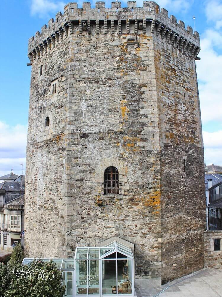 Torre del Homenaje del Parador de Vilalba