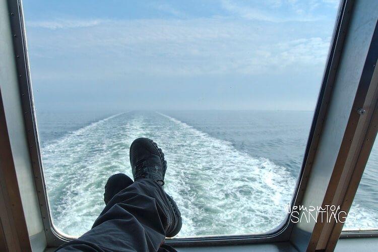 peregrino en barco