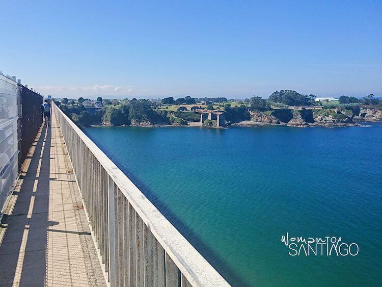 Puente sobre la ría del Eo
