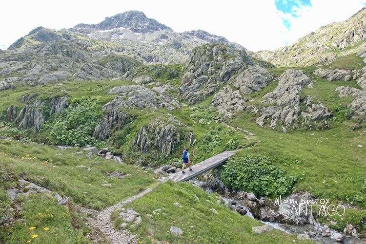 vía francígena en Suiza
