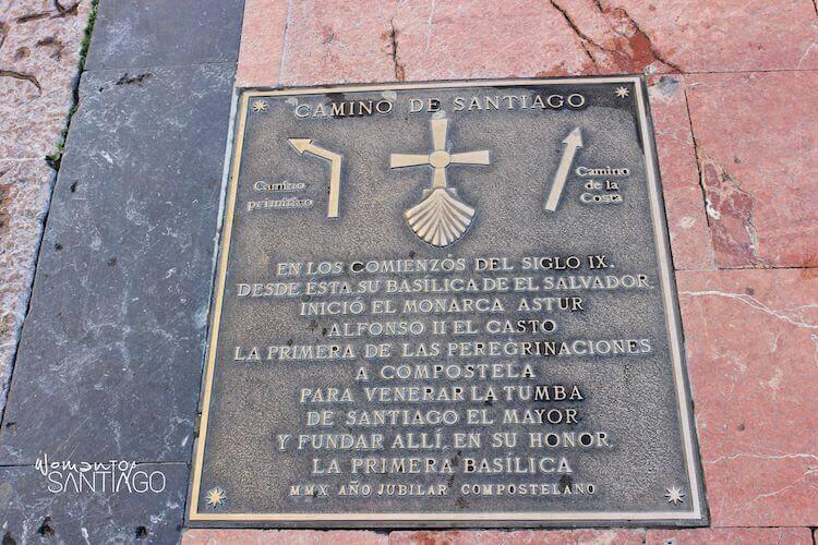 foto de frases del camino de santiago