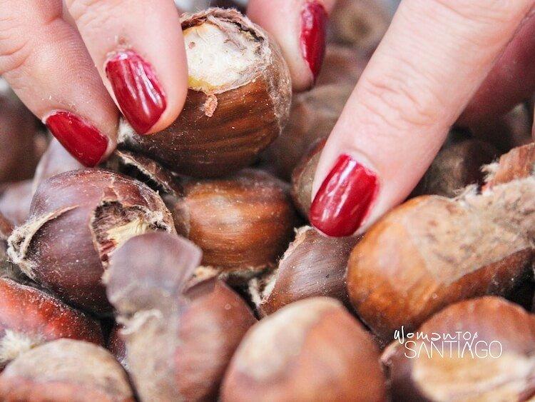 castañas de Galicia para celebrar el magosto