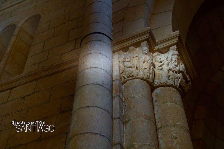 Capitel historiado de la Virgen