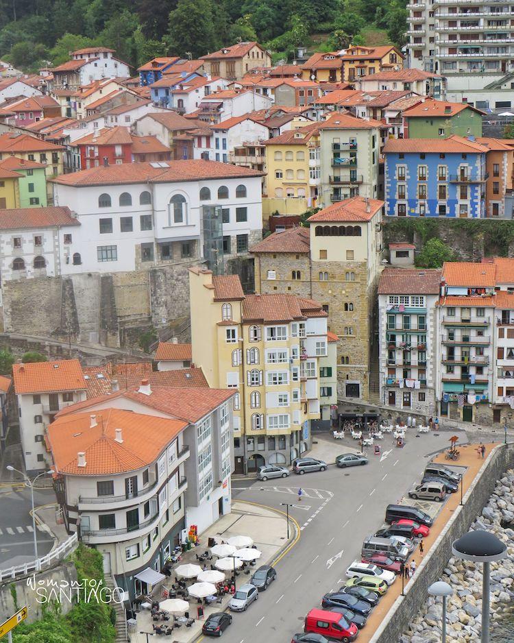 Vista de Mutriku (País Vasco)
