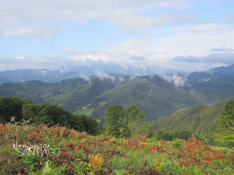 vistas de montaña en El País Vasco