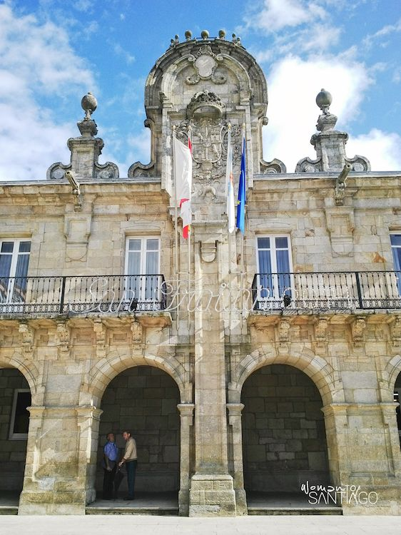 San Froilán en el AYuntamiento de Lugo