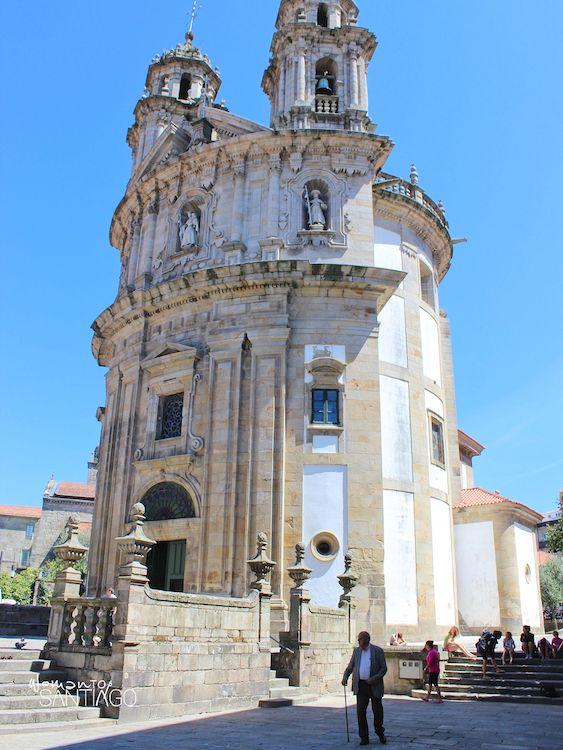 Templo de la Virgen de la Peregrina en Pontevedra