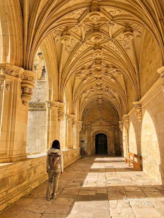 Claustro gótico del monasterio de San Zoilo