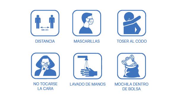 Infografía sobre la seguridad en el Camino de Santiago
