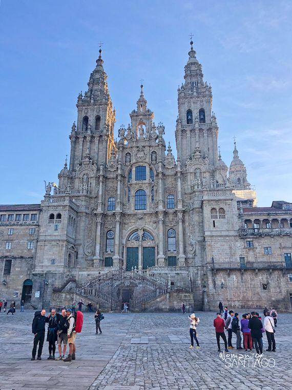 Plaza del Obradoiro con la Catedral de Santiago de Compostela