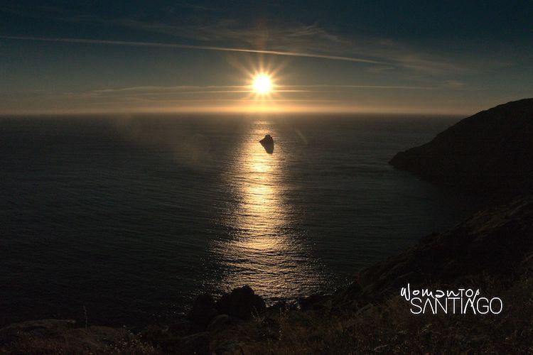 Puesta de sol en Fisterra