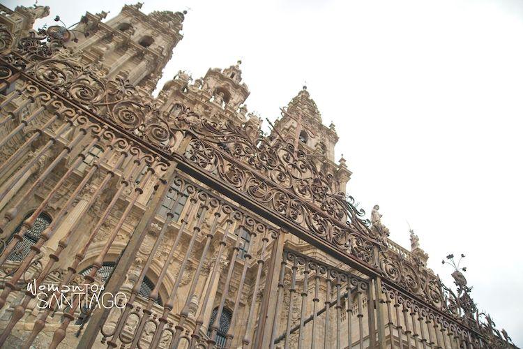 Fachada de la Catedral de Santiago de Compostela
